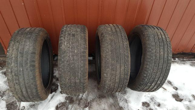 Opony zimowe zima komplet 4 szt 225/55/16 zima KUMHO 6-8mm