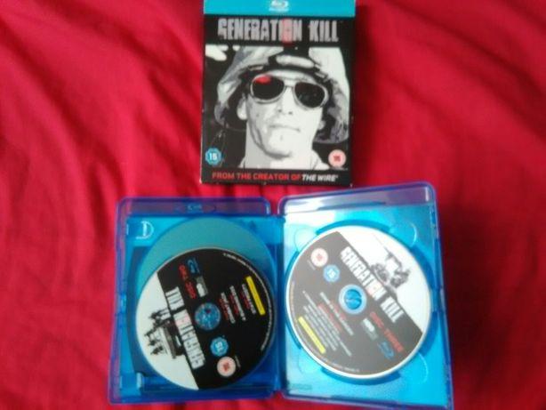 Generation Kill serial wojenny HBO Blu-Ray