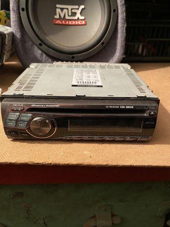 ALPINE CDE-9841R radioodtwarzacz CD 4X45W