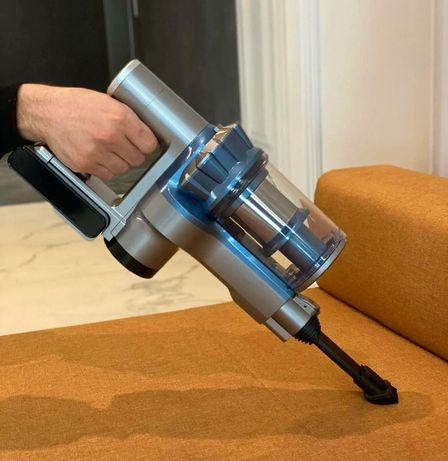 Вертикальный пылесос с турбощеткой, беспроводной аккумуляторный