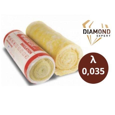 Wełna Mineralna-15cm Poddasza-Domy Szkieletowe- 0,035 - Diamond Expert