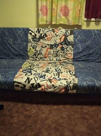 М'який диван на ламелях
