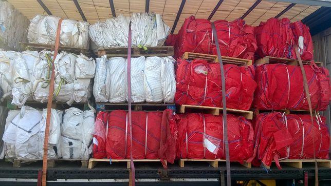 Worki Big Bag WENTYLOWANE Czarne 210 cm ! Mocne duża ilość