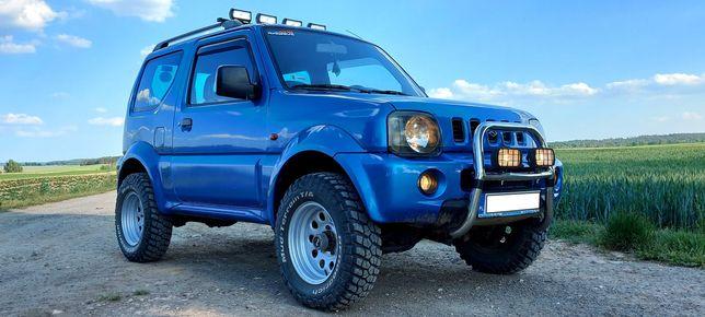 Suzuki Jimny 1.3 2000r 4x4 Podwyższony Poszerzony Opony MT BF Goodrich