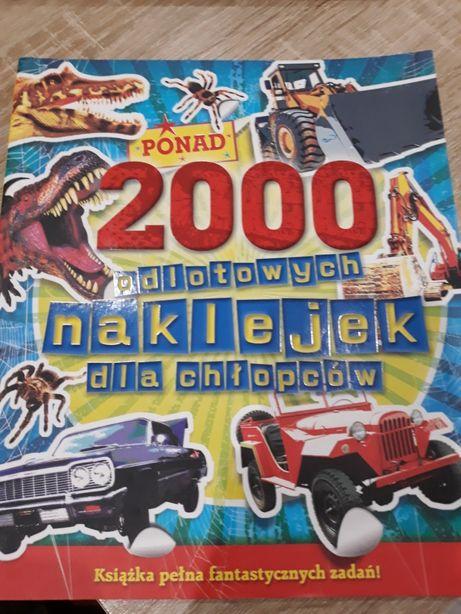 2000 odlotowych naklejek dla chłopców