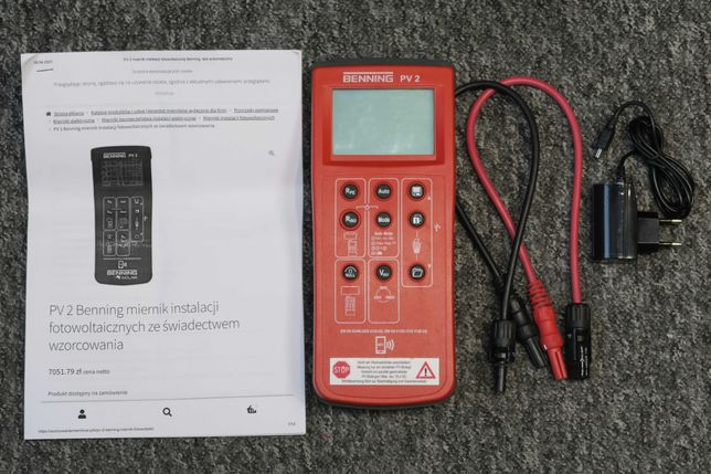 Miernik instalacji fotowoltaicznej BENING PV2