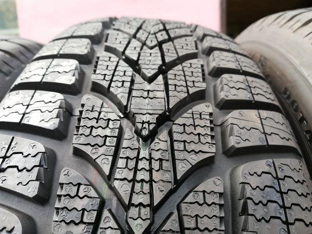 Opony zimowe 2x 195/65r16 92H Dunlop 8mm