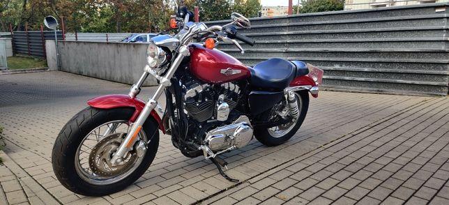 Harley-Davidson XL1200 custom . POZNAŃ zarejestrowany/2017 r raty