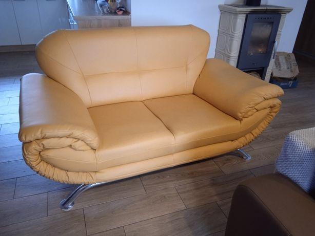 Sofa, eko-skóra, świetny stan