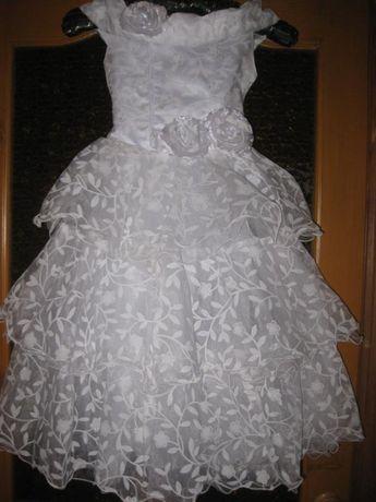 Нарядное платье для девочки .