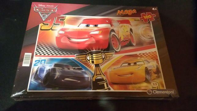 Nowe Clementoni Puzzle 100El. Cars 3nowe