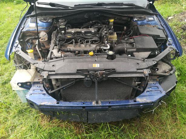 Mazda 6 pas przedni kompletny z chłodnicami