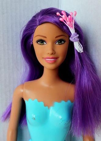 Кукла Барби с фиолетовыми волосами Русалка оригинал