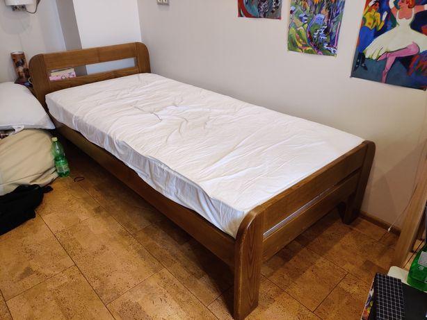Односпальная деревянная кровать (б/у)