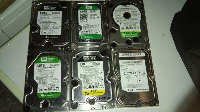 Продам HDD Sata 1000 Gb - два по ціні одного!!!