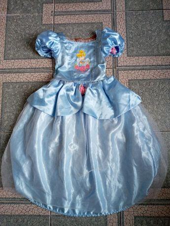 Прокат костюм Попелюшки  Золушки 2 в 1 двохсторонній принцеси
