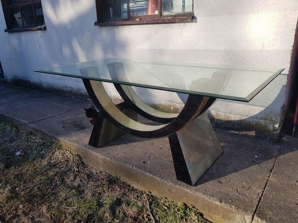 Stół szklany-duży