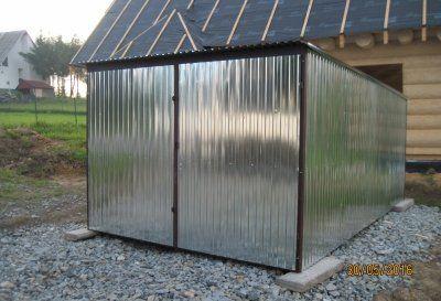 Garaż Blaszany Schowek Różne Wymiary 2x2 3x5 6x5 I Inne Nowe Dostawa