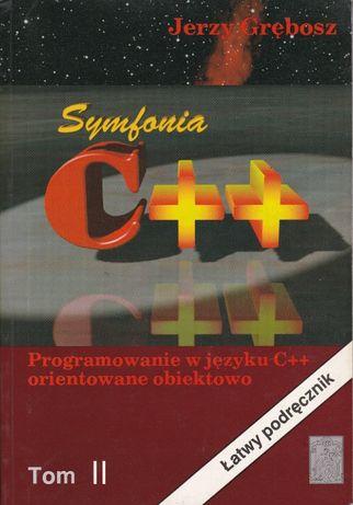 Symfonia C++ Programowanie w Języku C++ t .II