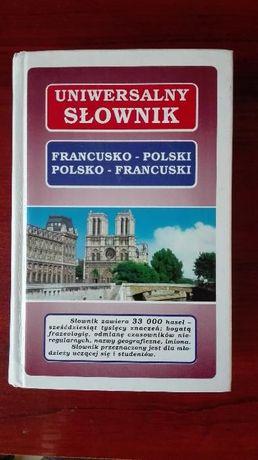 Słownik uniwersalny Polsko - Francuski, Francusko - Polski