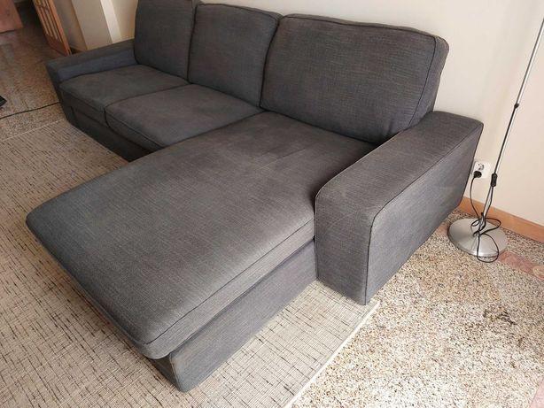 Sofá c/ chaise longue KIVIK