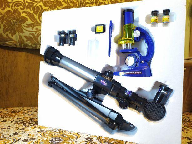 Телескоп+микроскоп