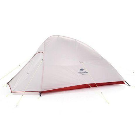 Двухместная палатка Naturehike Cloud UP 2 Silicone 20D нейлон gray