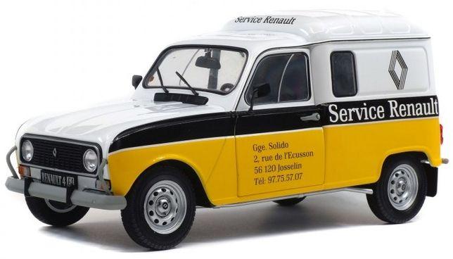 Miniatura 1:18 Renault 4F Assistência Renault NOVO