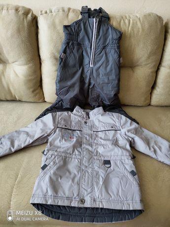 Комплект дитячий - осіння куртка і комбінезон !