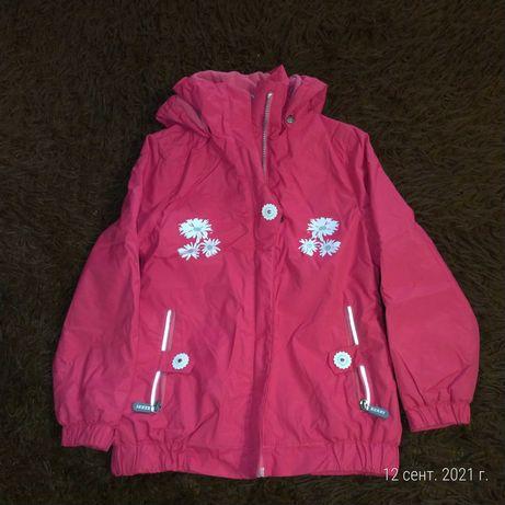 Финская термо курточка Kerry, детская  светоотражающими элементами.