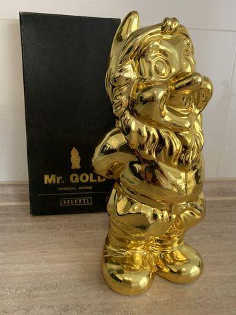 Золотой Гном статуэтка Италия
