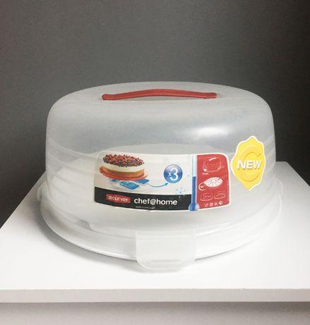 Тортовница Curver / ёмкость для тортов выпечки / контейнер