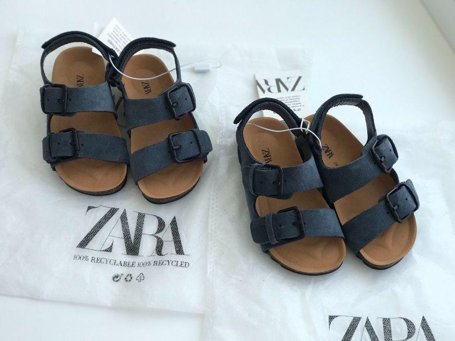 НОВЫЕ кожаные сандали ZARA, 24 размер Киев - изображение 1