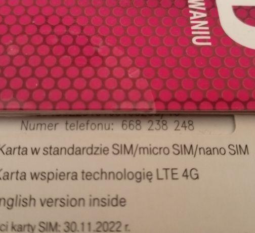 Złoty Numer T-mobile Starter Reklama/Firma/Baner