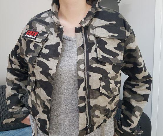 Kurtka nowa z metką S/M moro H&M ramoneska damska młodzieżowa