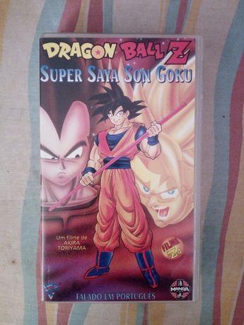 Cassete VHS Dragon Ball Z Super Saya Son Goku