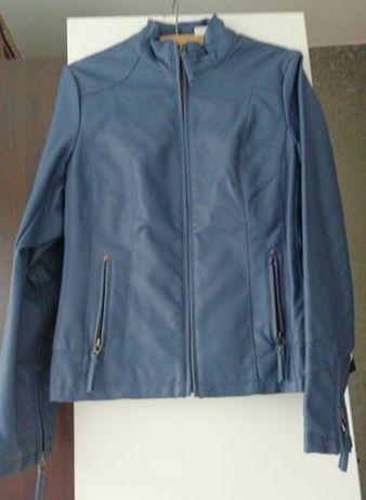 Ramoneska wiosenna, niebieska, indygo rozmiar S/M