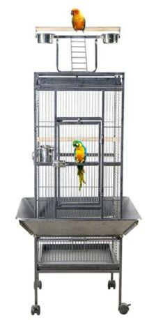 Klatka duża woliera NOWA dla papug ptaków metalowa