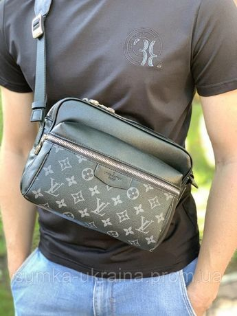 Мужская сумка мессенджер Louis Vuitton outdoor, LV, луи виттон