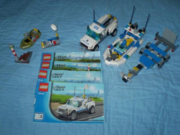 Lego City Patrol Policyjny 60045