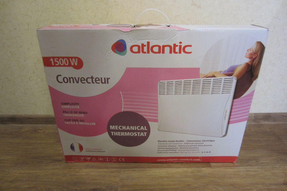 Конвектор ATLANTIC F17 Essential (CMG BL-Meca/M) 1500W Харьков - изображение 1