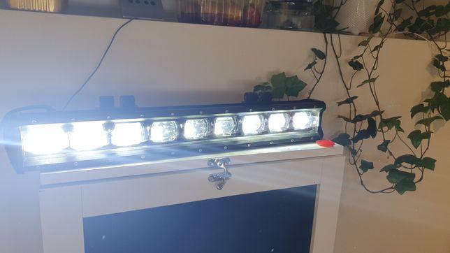 Lampa robocza reflektor 6D soczewka solidna LED 90W 50cm naswietlacz