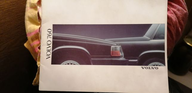 Prospekt Volvo 760
