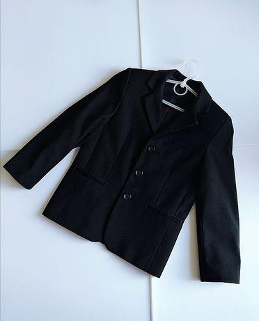 Пиджак школьный черный на мальчика р.122