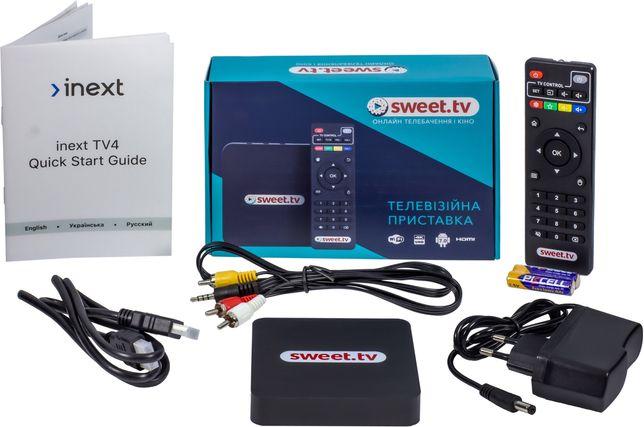 SWEET.TV BOX,приставка Світ тв