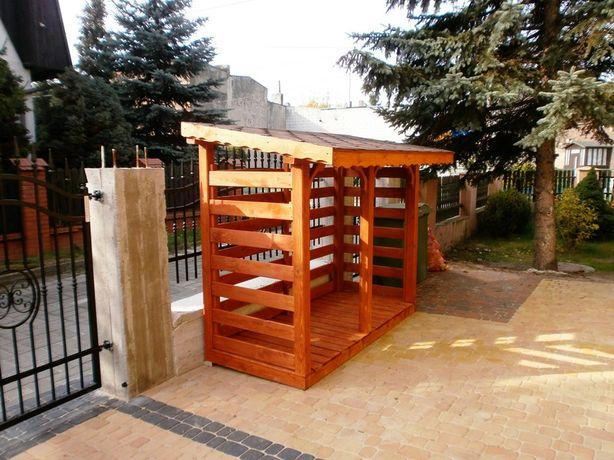 Drewutnie na drewno,składziki,magazynki 4x1,4m,3x2,3x1m,2x1,5m,2x1m