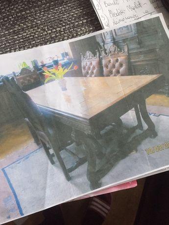 Stół z płytkami