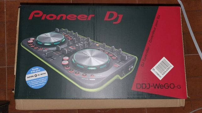 Conjunto Pioneer ddj wego green + Phones