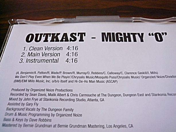 CD «Outkast - Mighty O»