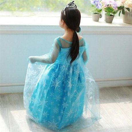 Fantasia / Vestido Princesa Elsa (Frozen) - NOVO - 3,4,5,6,7anos